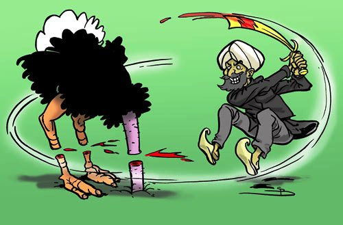 Vogel-Strauß-Taktik im Umgang mit dem Islam