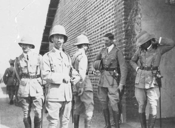 Britischen Offiziere Während der Besatzungszeit in Iran