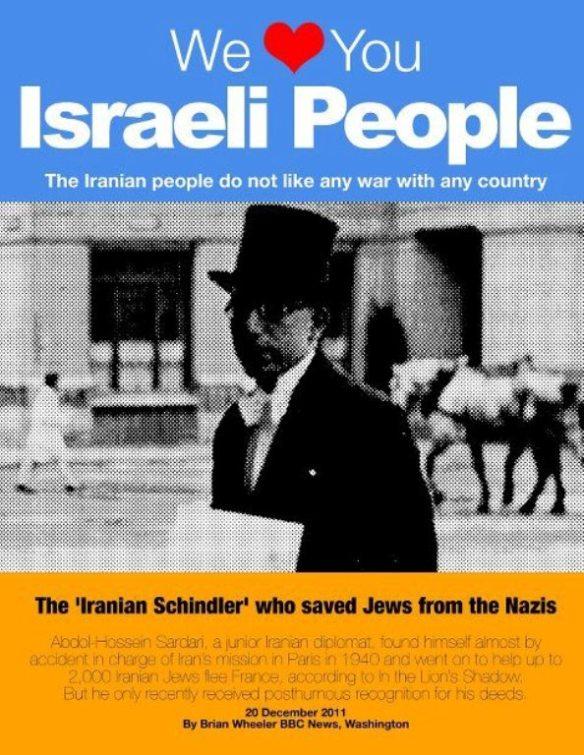 Der iranische Schindler Abdolhoseyn Sardâri