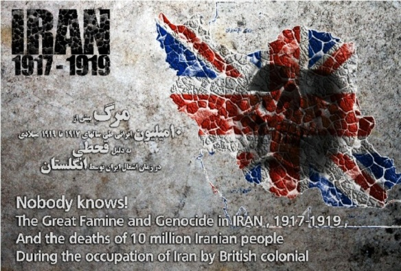 Hungersnot in Iran durch die Briten