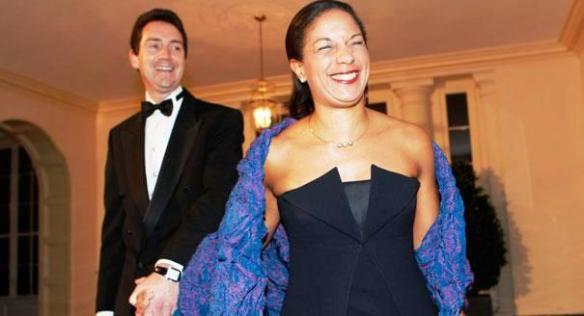 Ian Cameron und seine Ehefrau Susan Rice