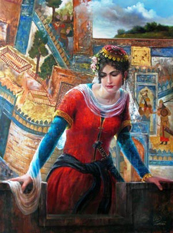 Iranische Frauen in der Antike