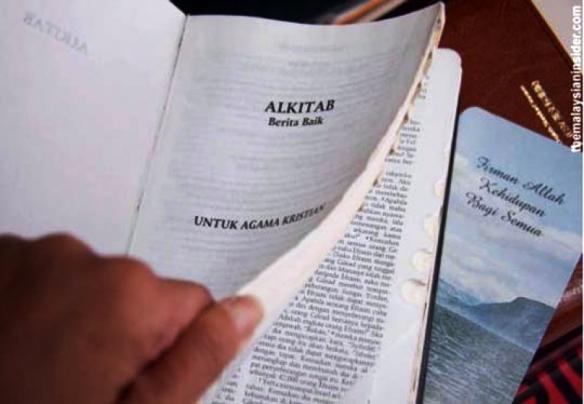 Die Bibel auf Malaysisch