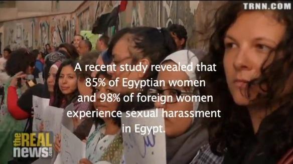 Sexuelle Angriffe auf Frauen in Ägypten