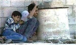 Muhammad al Durah und sein Vater