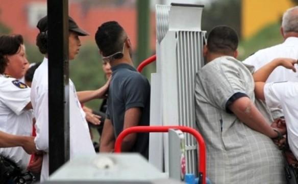 Die Verhaftung der kriminellen marokkanischen Jugendlichen in Gouda
