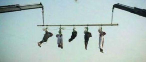 Die Leichen der 5 jemenitischen Staatsbürger in Saudi-Arabien