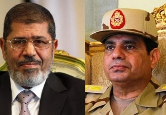Mohammad Morsi_Abd al-Fattah As-Sisi