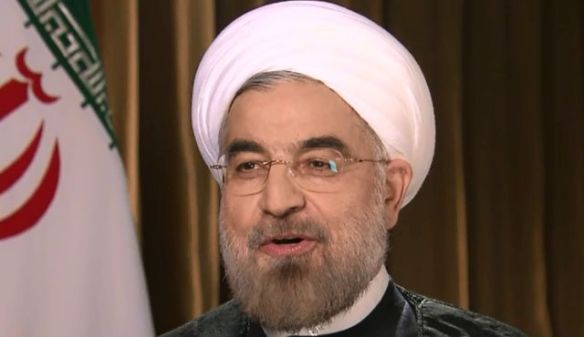 Hassan Rohani im Interview mit CNN