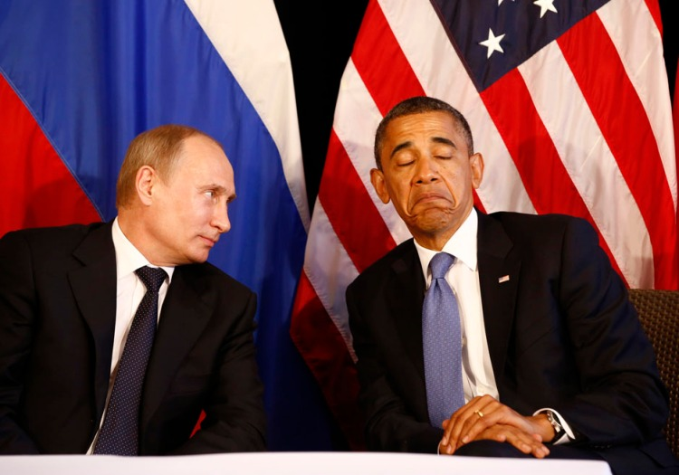U.S. President Barack Obama meets with Russian President Putin in Los Cabos