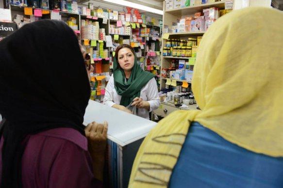 Schwere Zeiten in Irans Apotheken