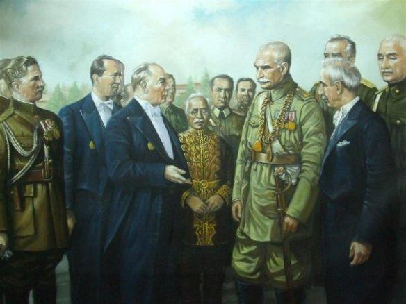 1-Atatürk_Rezâ Šâh