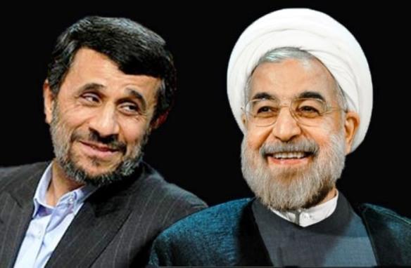 Ahmadinedschad vs. Rouhani