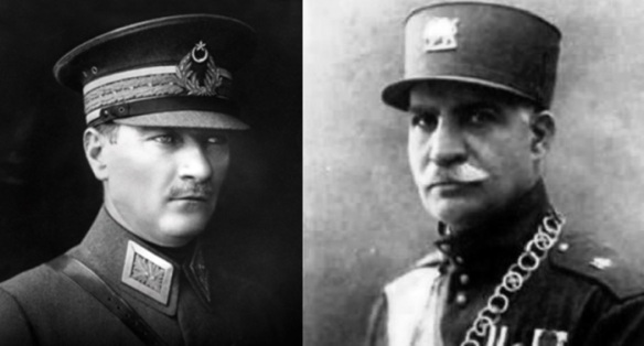 Atatürk_Rezâ Šâh