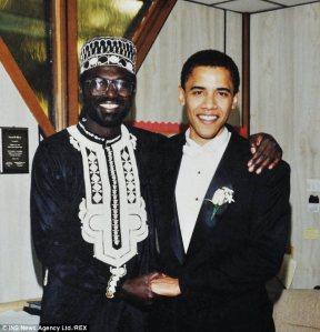 Malik Obama bei der Hochzeit von Barack und Michelle
