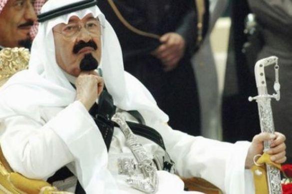 Der saudische König Abdullah