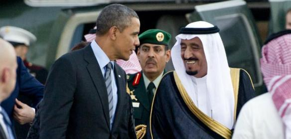 Obma und Abdullah