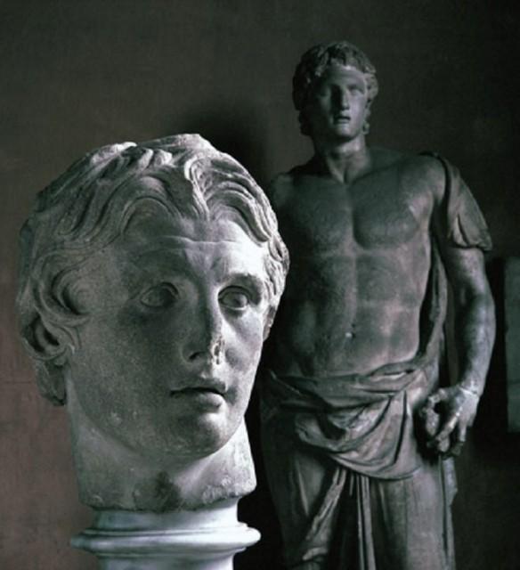 Abb. 1 Alexander Statue