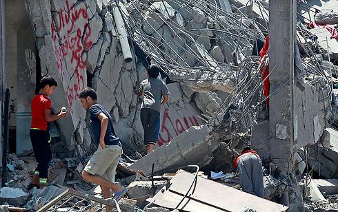 (Foto: EPA) devastación en Gaza