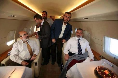 Privatflugzeug für Haniyeh