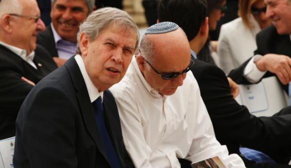 Foto: Reuters Mossadchef Tamir Pardo und Shin Bet Kopf Yoram Cohen.  Tamir Pardo, Chef des israelischen Geheimdienst Mossad, sitzt neben Yoram Cohen, der Chef der israelischen Shin Bet, der interne Sicherheitsdienst.