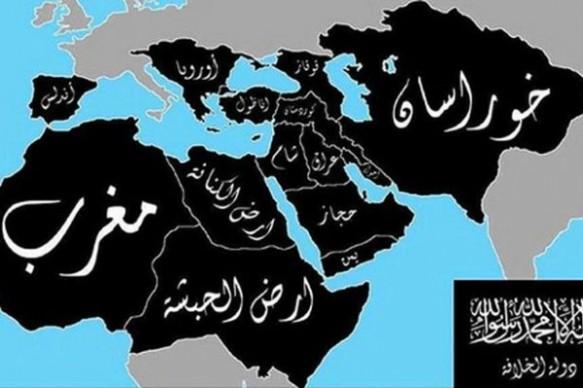 ISIS-Landkarte