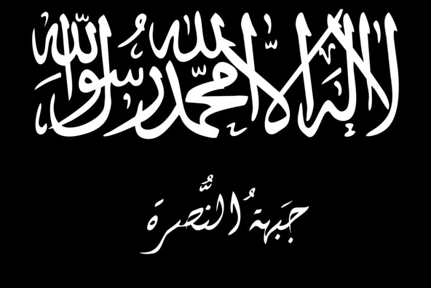 Fuente: islamicinvitationturkey.com bandera de Al Nusra Frente