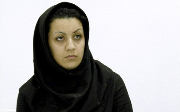 Bildquelle: Telegraph.co.uk Reyhaneh Jabbari