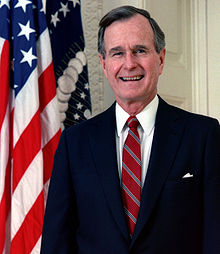 Los autores George H. W Bush altos.