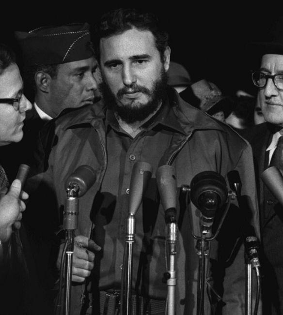 Bildquelle: Wikipedia Fidel Castro im Jahr 1959