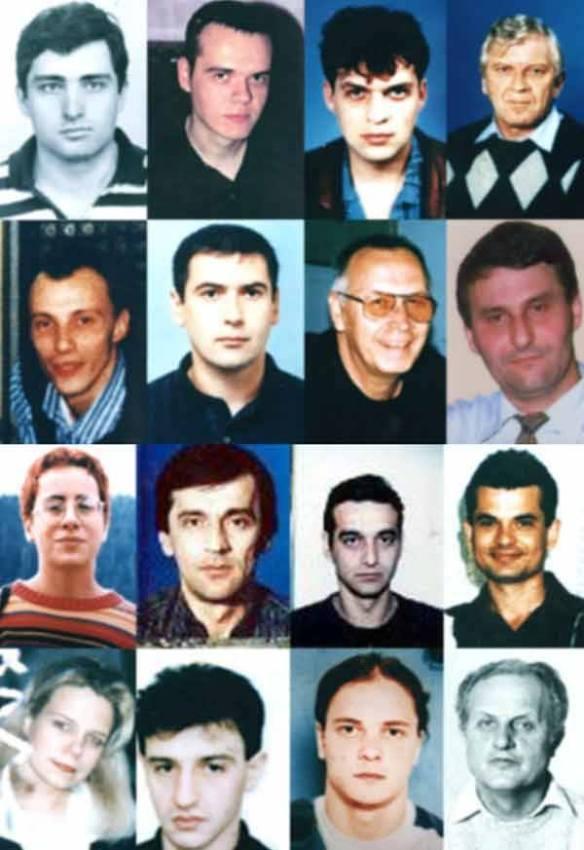 Die von der NATO ermordeten serbischen Journalisten, denen - im Gegensatz zu den ermordeten Mitarbeitern des Satiremagazins Charlie Hebdo - von der Weltöffentlichkeit kein Mitgefühl entgegengebracht wurde.