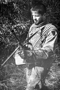 Foto 1: der bosnisch moslemische Kommandant Naser Oric