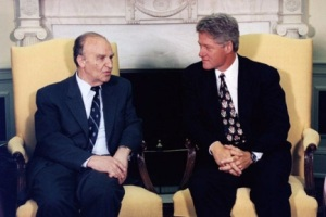 Bill Clinton + Alija Izetbegović
