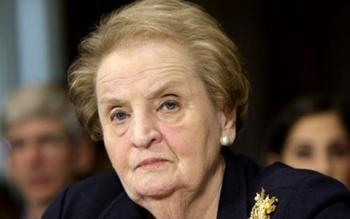 Bildquelle: Internationales Radio Serbien Madeleine Albright