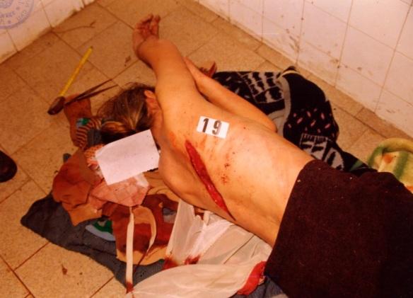 Opfer aus Skelani