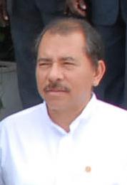 Bildquelle: Wikipedia Der damalige sandinistische Präsident Daniel Ortega (2007)