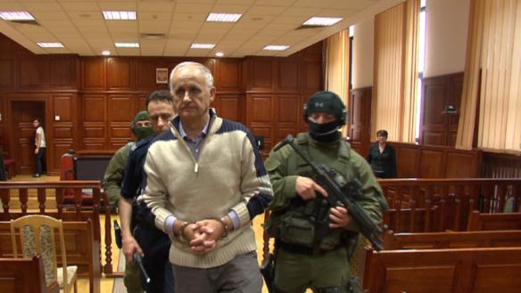 General Radislav Krstić: einer von vielen serbischen Angeklagten, die auch ohne Schuld-Beweise die Gefängnisse des Jugoslawien-Tribunals bis zum Tod nicht mehr verlassen werden