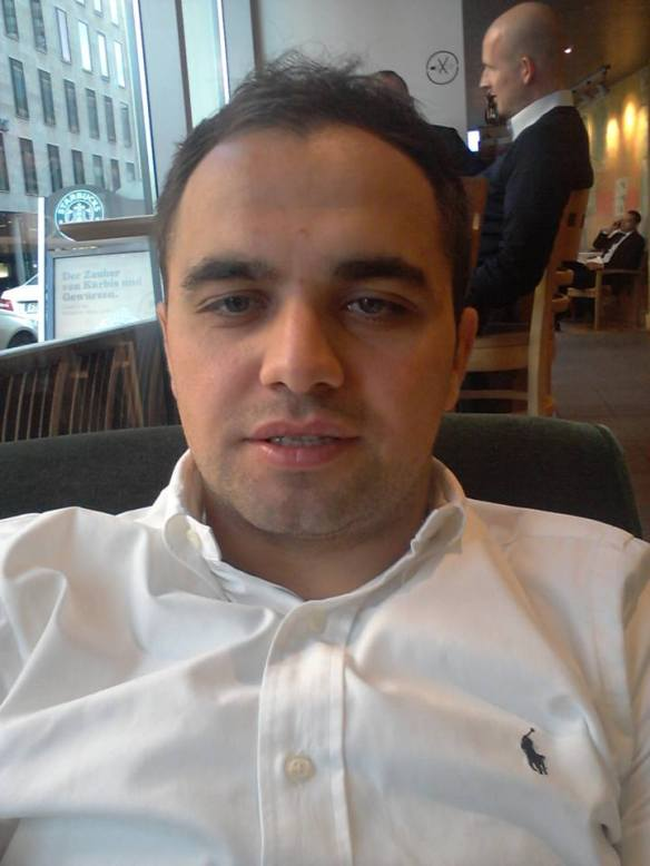 Der bosnische Botschaftsmitarbeiter Kenan Kovačević