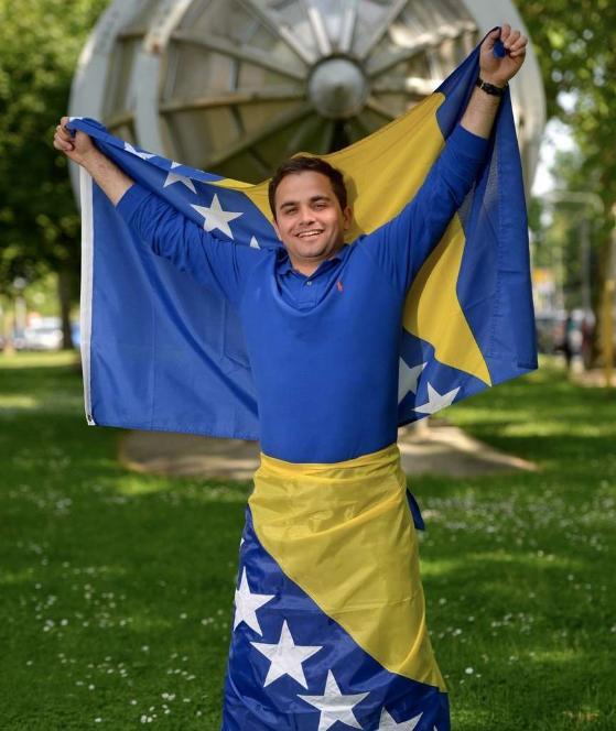 Kovačević als glühender bosnisch-muslemischer Nationalist