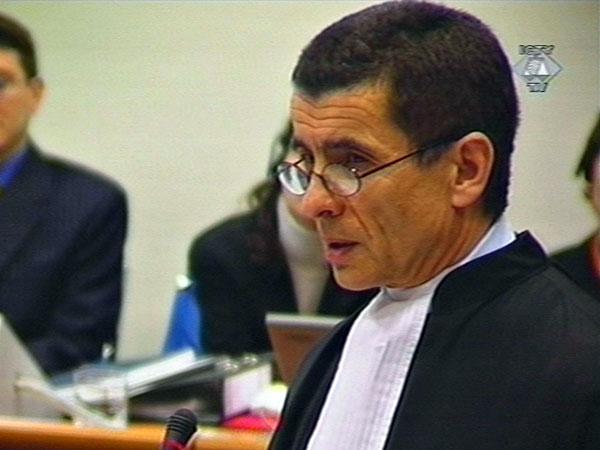 Chefankläger Geofferey Nice: versuchte während des Prozesses gegen Slobodan Milošević mit manipulierten Videos zu punkten