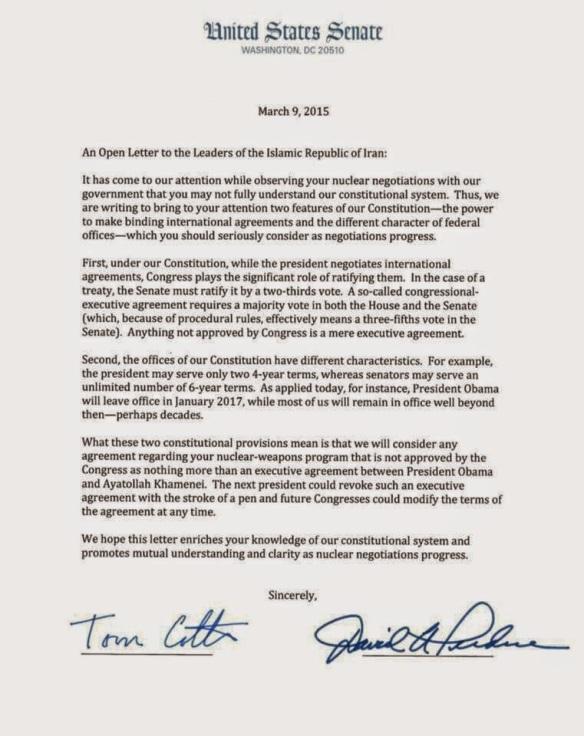 150305 Lügen Brief Senatoren Iran - Copy