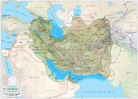 Bildquelle: yadi.ir Sassanidisches Weltreich