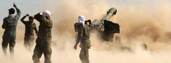 Bildquelle: spiegel.de Befreiung von Tikrit: Schiitische Milizen bei der Offensive gegen den IS