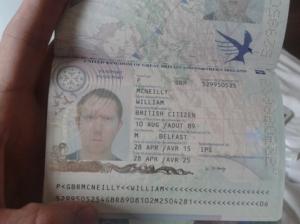 Bildquelle: WikiLeaks William-McNeilly-Passport-ID