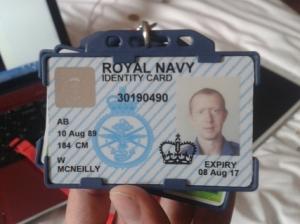 Bildquelle: WikiLeaks William-McNeilly-Royal-Navy-ID