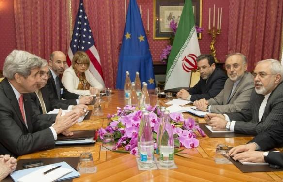 Bildquelle: AFP Atomverhandlungen in Lausanne