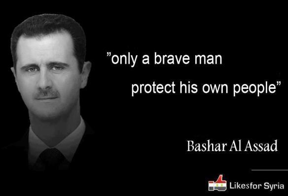 Bildquelle: syrianfreepress.wordpress.com Bashar Al Assad