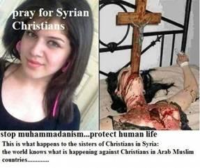 Gräueltaten der ISIS an syrischen Christen