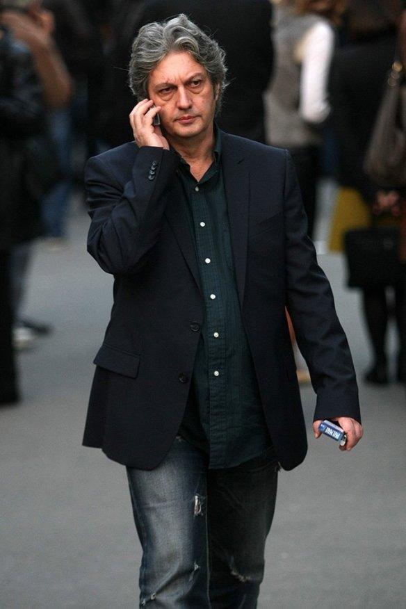 In Serbien eine berühmte Persöhnlichkeit: TV-Moderator Milomir Marić