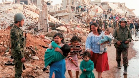 Flüchtlinge aus Syrien, die Opfer US-amerikanischer Geopolitik